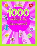 1000 naklejek dla dziewczynek w sklepie internetowym Booknet.net.pl