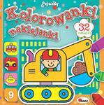 Kolorowanki naklejanki 9 w sklepie internetowym Booknet.net.pl