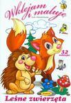 Leśne zwierzęta Wklejam i maluję w sklepie internetowym Booknet.net.pl