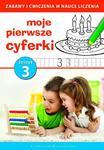 Moje pierwsze cyferki część 3 Elementarz do kolorowania w sklepie internetowym Booknet.net.pl
