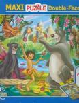 Puzzle Dwustronne Maxi 24 Jungle Book w sklepie internetowym Booknet.net.pl