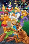 Scooby i wesołe miasteczko Puzzle Maxi 24 w sklepie internetowym Booknet.net.pl