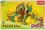 Puzzle 60 Scooby-Doo Bieg do kosza w sklepie internetowym Booknet.net.pl
