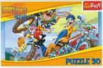 Puzzle 30 Looney Tunes Rajd rowerowy w sklepie internetowym Booknet.net.pl