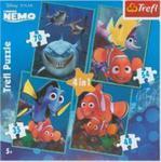 Puzzle Nemo 4 w 1 w sklepie internetowym Booknet.net.pl