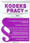 Kodeks pracy 2013 w sklepie internetowym Booknet.net.pl