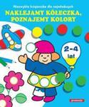 Naklejamy kółeczka poznajemy kolory w sklepie internetowym Booknet.net.pl