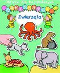 Zwierzęta. Obrazki dla najmłodszych. Naklejanki w sklepie internetowym Booknet.net.pl