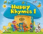 Happy Rhymes 1 z płytami CD i DVD w sklepie internetowym Booknet.net.pl