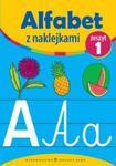 Alfabet z naklejkami zeszyt 1 w sklepie internetowym Booknet.net.pl