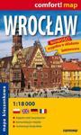 Wrocław laminowany plan miasta 1:18 000 w sklepie internetowym Booknet.net.pl