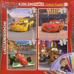 Puzzle Auta Zig Zag 4 + mazaki w sklepie internetowym Booknet.net.pl