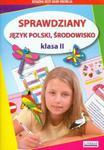 Sprawdziany. Język polski, środowisko. Klasa 2 w sklepie internetowym Booknet.net.pl