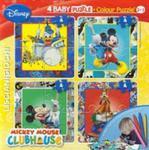 Puzzle Baby 4 Myszka Miki + flamastry w sklepie internetowym Booknet.net.pl