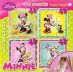 Puzzle Zig-Zag 2 w 1 Myszka Miki + flamastry w sklepie internetowym Booknet.net.pl