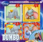 Puzzle Baby 4 Dumbo + flamastry w sklepie internetowym Booknet.net.pl