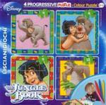 Puzzle Baby 4 Księga dżungli + flamastry w sklepie internetowym Booknet.net.pl