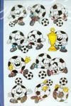 Naklejki papierowe Football w sklepie internetowym Booknet.net.pl