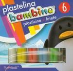 Plastelina Bambino 6 kolorów w sklepie internetowym Booknet.net.pl