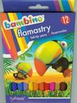 Flamastry Bambino 12 kolorów w sklepie internetowym Booknet.net.pl