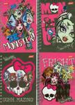 Notes spiralny Monster High 56 stron A6 w sklepie internetowym Booknet.net.pl