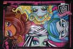 Podkład laminowany Monster High w sklepie internetowym Booknet.net.pl