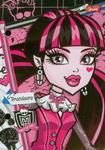 Wkłady do segregatora Monster High 20 sztuk A6 w sklepie internetowym Booknet.net.pl
