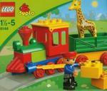 Lego duplo Ciuchcia w zoo w sklepie internetowym Booknet.net.pl