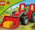 Lego duplo Duży traktor w sklepie internetowym Booknet.net.pl