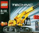 Lego Technic Dźwig gąsienicowy 2w1 w sklepie internetowym Booknet.net.pl