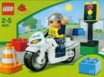 Lego duplo Motocykl policyjny w sklepie internetowym Booknet.net.pl