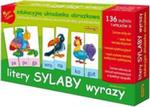 Litery sylaby wyrazy 5 gier i zabaw w sklepie internetowym Booknet.net.pl