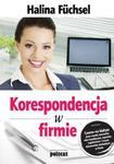 Korespondencja w firmie w sklepie internetowym Booknet.net.pl