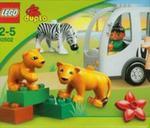 Lego duplo Autobus w zoo w sklepie internetowym Booknet.net.pl