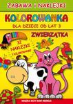 Zwierzątka Zabawa i naklejki Kolorowanka w sklepie internetowym Booknet.net.pl