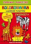 Zwierzęta Zabawa i naklejki Kolorowanka Łączenie punktów w sklepie internetowym Booknet.net.pl