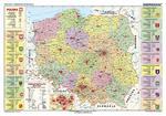 Mapa administracyjna Polski w sklepie internetowym Booknet.net.pl