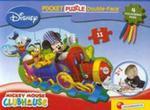 Puzzle dwustronne kieszonkowe Mickey Mouse w sklepie internetowym Booknet.net.pl