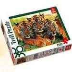 Puzzle 160 Słodkie tygryski w sklepie internetowym Booknet.net.pl
