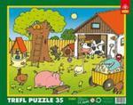 Na farmie - Puzzle Ramkowe 35 w sklepie internetowym Booknet.net.pl