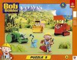 Bob i przyjaciele Puzzle Ramkowe 5 w sklepie internetowym Booknet.net.pl