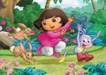 Dora i króliki Puzzle Maxi 40 w sklepie internetowym Booknet.net.pl