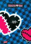 Brulion A6 Monster High niebieski w sklepie internetowym Booknet.net.pl