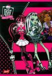 Zeszyt Monster High w trzy linie 16 stron A5 w sklepie internetowym Booknet.net.pl