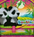 Teczka z rączką A4 Bambino panda różowa w sklepie internetowym Booknet.net.pl