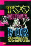Zeszyt Monster High w linie 32 strony A5 w sklepie internetowym Booknet.net.pl
