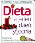 Dieta na jeden dzień tygodnia w sklepie internetowym Booknet.net.pl
