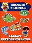 Historyjki z nalepkami Zabawy przedszkolaków w sklepie internetowym Booknet.net.pl