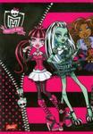 Zeszyt Monster High A5 krata w sklepie internetowym Booknet.net.pl