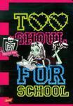 Zeszyt Monster High w linie 16 stron A5 Too Ghoul w sklepie internetowym Booknet.net.pl